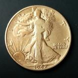 Півдолара 1942 р. Свобода, фото №4