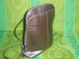 Сумка- рюкзачок кожа Европа, фото №11