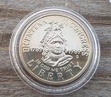 США 50 центов 1989 г 200-летие Конгресса США. Здание Капитолия., фото №2