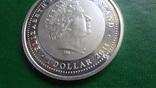 1  доллар 2011  Ниуэ год Дракона   серебро     (2.3.10)~, фото №8
