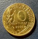 Франция 10 сантимов 2000, фото №2