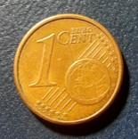 Франция 1 евро цент 2005, фото №2
