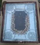 Икона в окладе св.Феодосий., фото №2