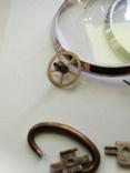 2 стекла с кольцами 3602 и др., фото №4