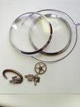 2 стекла с кольцами 3602 и др., фото №2