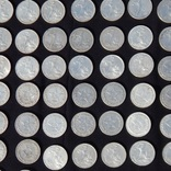 Серебрянные советские  полтинники 96 шт. и 1 рубль., фото №5
