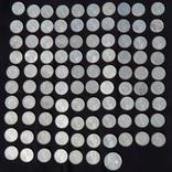 Серебрянные советские  полтинники 96 шт. и 1 рубль., фото №6