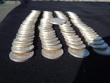 Серебрянные советские  полтинники 96 шт. и 1 рубль., фото №9