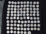 Серебрянные советские  полтинники 96 шт. и 1 рубль., фото №11