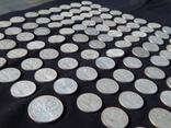 Серебрянные советские  полтинники 96 шт. и 1 рубль., фото №12