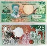 Суринам Suriname - 25 гульден gulden - 1988 - P132b, фото №2
