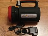 Аккумуляторный фонарь Yajia YJ-2886/5W+22SMD LED с функцией PowerBank для зарядки, фото №2