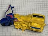 Винтажная металическая чинила для карандашей в форме мотоцикла, фото №5