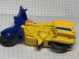 Винтажная металическая чинила для карандашей в форме мотоцикла, фото №7
