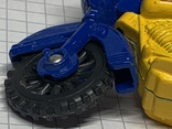 Винтажная металическая чинила для карандашей в форме мотоцикла, фото №9