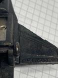 Винтажная металическая чинила для карандашей в форме самолёта клеймо Hong Kong, фото №8