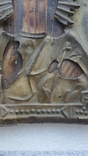 Икона Спаситель в окладе бронза, фото №9