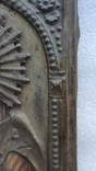 Икона Спаситель в окладе бронза, фото №12