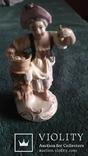 Старинная фарфоровая фигурка Дрезден Германия, фото №2