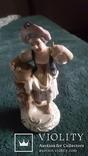 Старинная фарфоровая фигурка Дрезден Германия, фото №3
