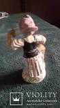 Старинная фарфоровая фигурка Дрезден Германия, фото №4