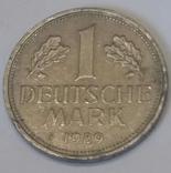 Німеччина 1 марка, 1989
