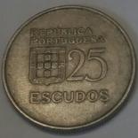 Португалія 25 ескудо, 1980