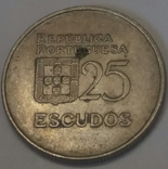 Португалія 25 ескудо, 1981