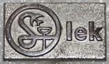 Значок-логотип фармацевтической компании (Чехословакия) тяжелый, фото №2