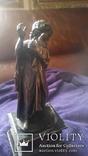 Старинная бронзовая фигура с подписью автора Фальконне, фото №4
