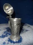 Коллекционная   кружка Олово Германия Клеймо 0,1 L, фото №8