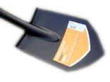 Лопата Fiskars Solid 131417 Саперка (Новая Ручка 2018) + Чехол ПИКСЕЛЬ 85 см, фото №7