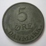 Дания 5 эре 1955 года, фото №4