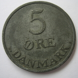 Дания 5 эре 1955 года, фото №5