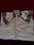 Незакінчена сорочка ,яка ще не була зшита вишиванка, фото №2