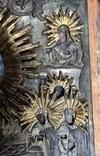 Икона Св.Николай Чудотворец с приписными, в окладе, фото №5