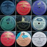 """Граммпластинки ссср. 10"""", 78 об/мин. Моно. Лот 1. Песни на разных языках, фото №7"""