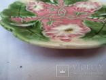 Старинные настенные тарелки майолика пара, фото №7
