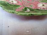 Старинные настенные тарелки майолика пара, фото №8