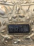 Икона «Знамение» в медно-бронзовом окладе 38*32, фото №3