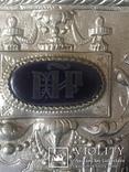 Икона «Знамение» в медно-бронзовом окладе 38*32, фото №9