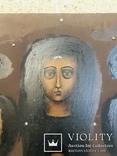 Икона «Знамение» в медно-бронзовом окладе 38*32, фото №12