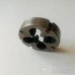 Плашка Лерка советская М12 твердосплавная Нормальной резьбы, фото №4
