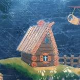 Картина на фанере в стиле Палех или Лубок., фото №5
