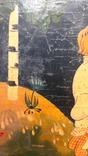 Картина на фанере в стиле Палех или Лубок., фото №7