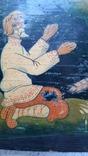 Картина на фанере в стиле Палех или Лубок., фото №9