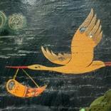 Картина на фанере в стиле Палех или Лубок., фото №10