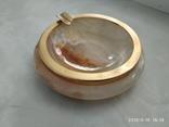 Пепельница оникс натуральный камень, фото №3