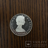 Канада 1 долар, 1985 100-та річниця - Національні парки, фото №2