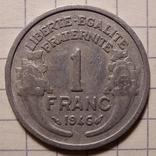 Франция. 1 франк 1946, фото №2